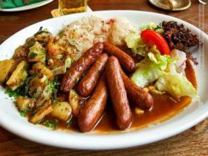 Несколько типичных цюрихских блюд